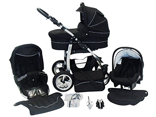 kinderwagen 3 in 1 gro e auswahl details infos. Black Bedroom Furniture Sets. Home Design Ideas