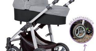 Kinderwagen mit Luftreifen