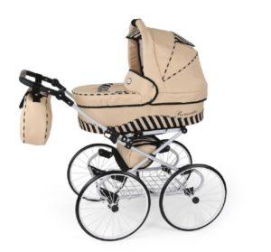 Kinderwagen mit großen Rädern